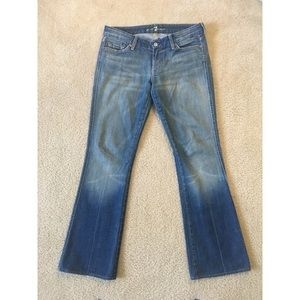 "7 for all mankind ""A Pocket "" Size 28"
